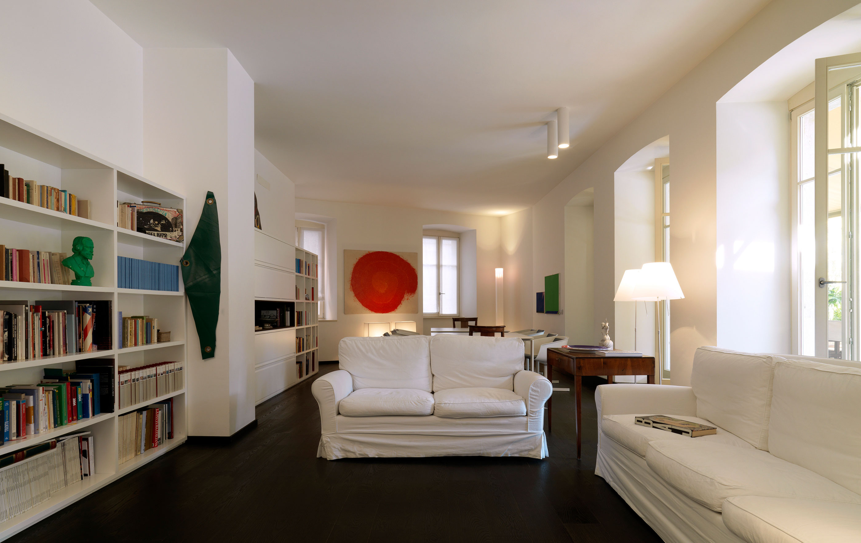 Trento apartment by baldessari e baldessari - Interior design trento ...