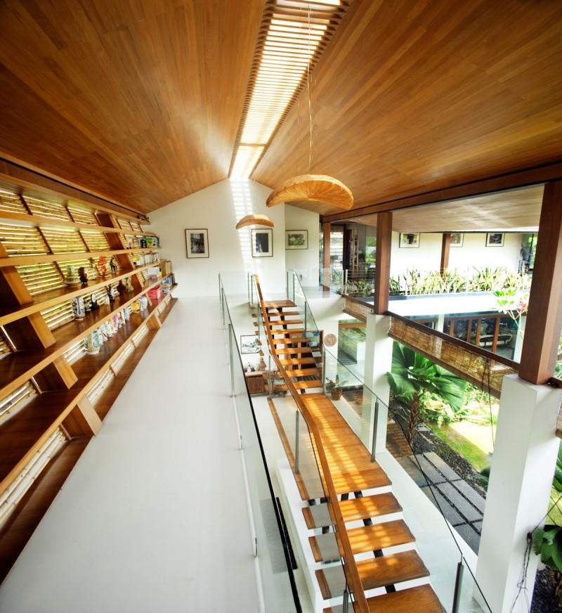 The Sun House By Guz Architects A Hevean Of Green In: Rattan House By Guz Architects