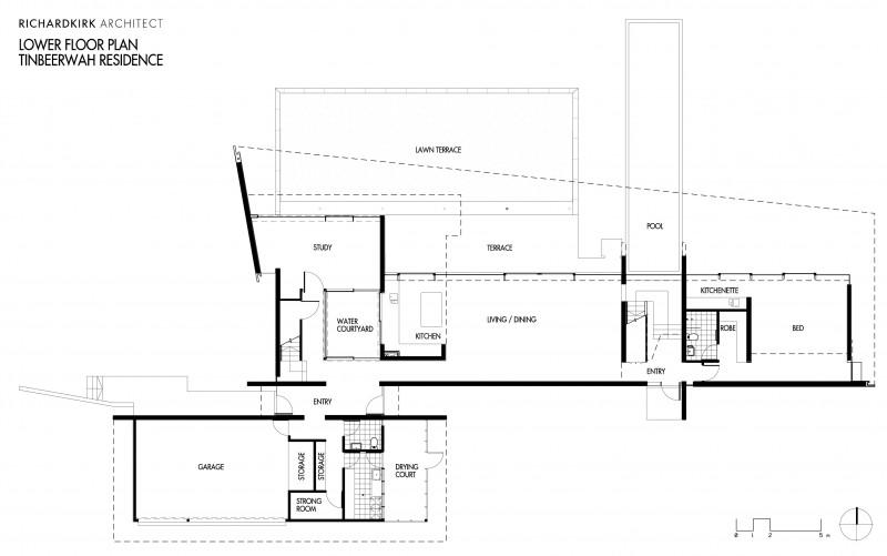 Tinbeerwah residence by richard kirk architect - Residence rosalie richard kirk architects ...