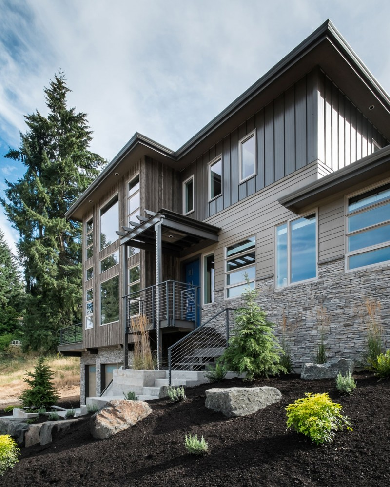 Modern Home In Eugene Oregon By Jordan Iverson Signature: Crest Meadows Residence By Jordan Iverson Signature Homes
