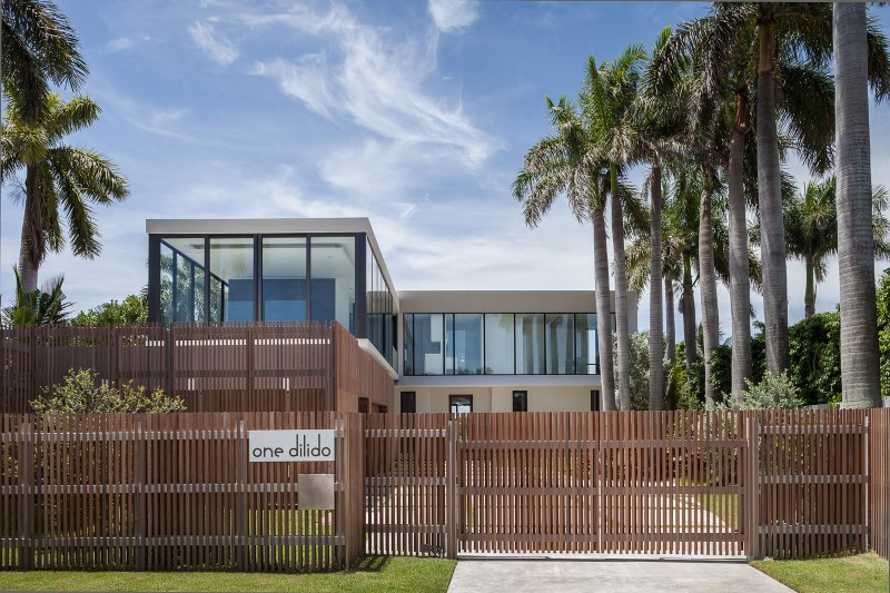 Fendi Residence By RGlobe Architecture Cool Miami Home Design Exterior