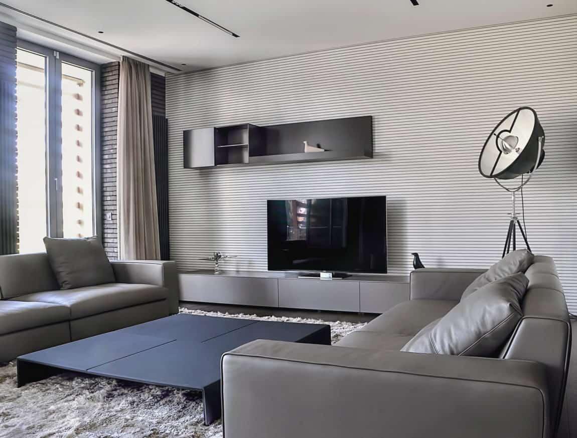 An Apartment in Belgrade by Aleksandar Savikin (7)