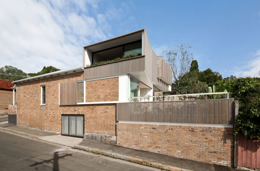 Balmain Houses by Benn & Penna Architects (1)