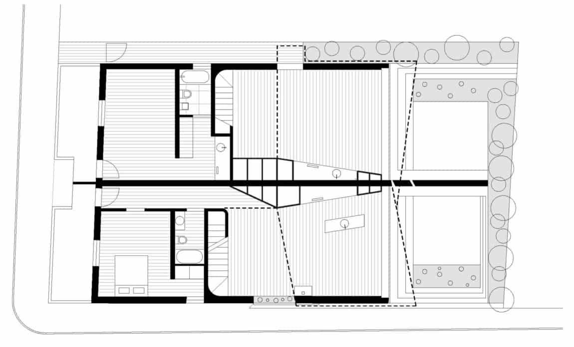 Balmain Houses by Benn & Penna Architects (12)
