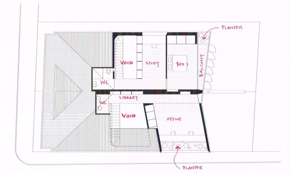 Balmain Houses by Benn & Penna Architects (15)