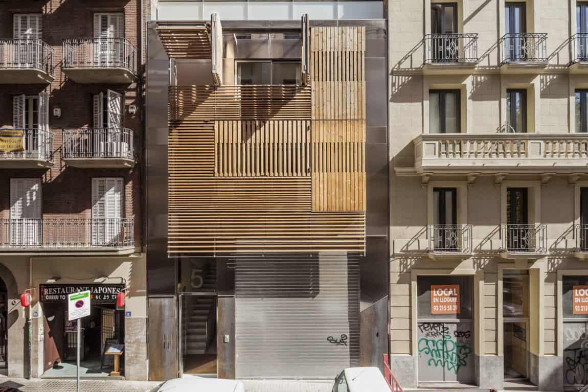 Dwellings in Barcelona by Josep Lluís Mateo (3)