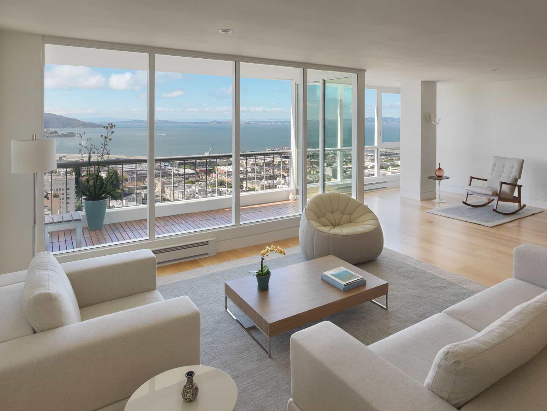 Интерьер квартир-студий с одним и двумя окнами: фото дизайно.