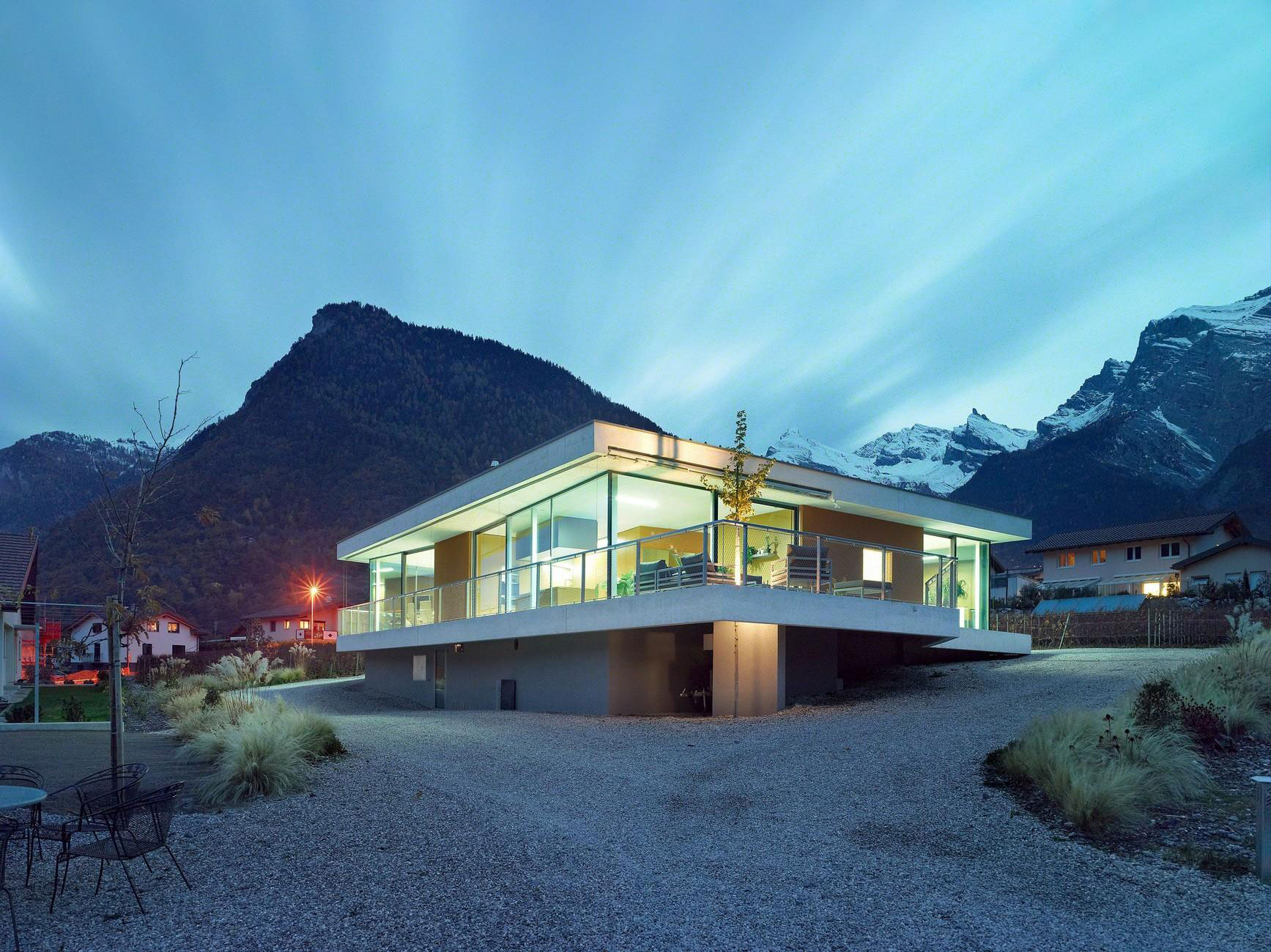 Magliocco House by savioz fabrizzi architectes