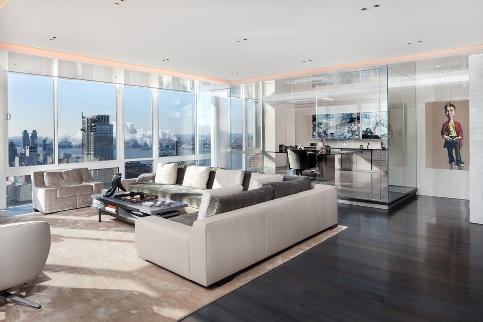 Manhattan penthouse architecture by turett collaborative for Luxury penthouses in manhattan