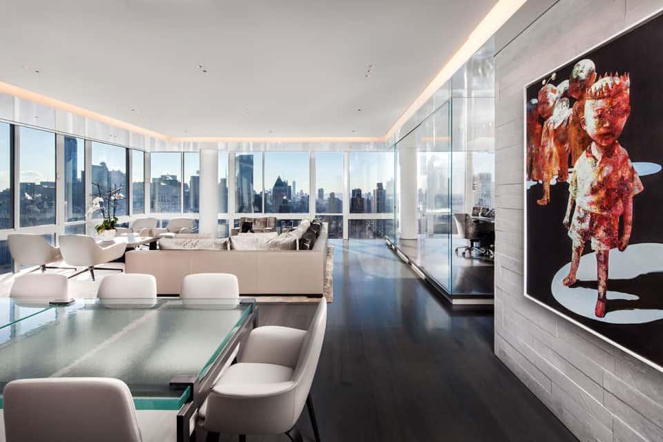 Manhattan Penthouse by Turett Collaborative Architecture (6)