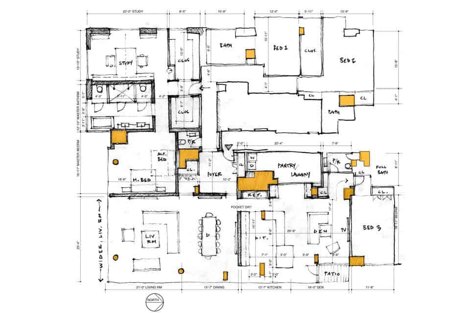 Manhattan Penthouse by Turett Collaborative Architecture (15)