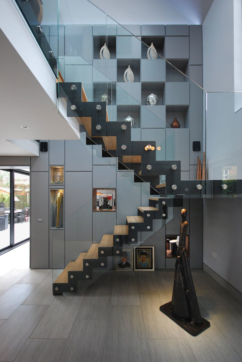 Merrodown by Stephen Davy Peter Smith Architects