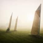 Sails Park Benches by Félix Guyon (2)