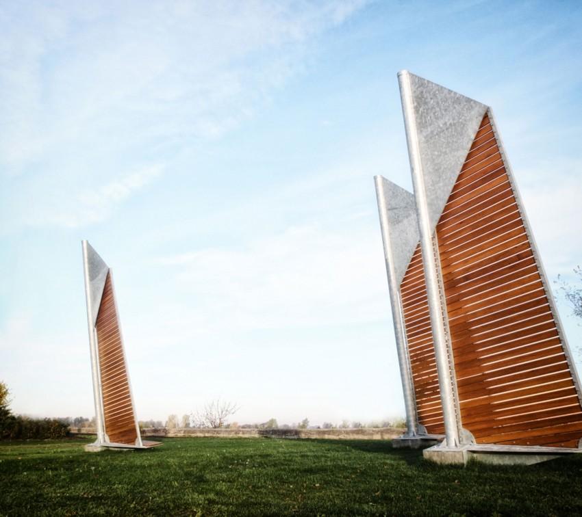 Sails Park Benches by Félix Guyon (5)