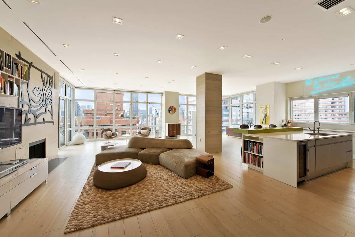 Neues Interieur Extravagantes Penthouse Design - waitingshare.com -