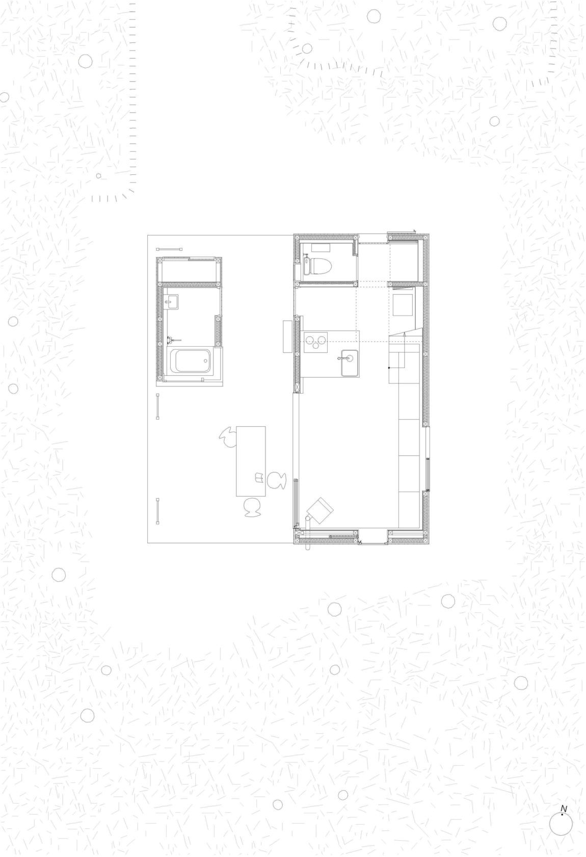 Villa in Hakuba by Naka Architects (14)
