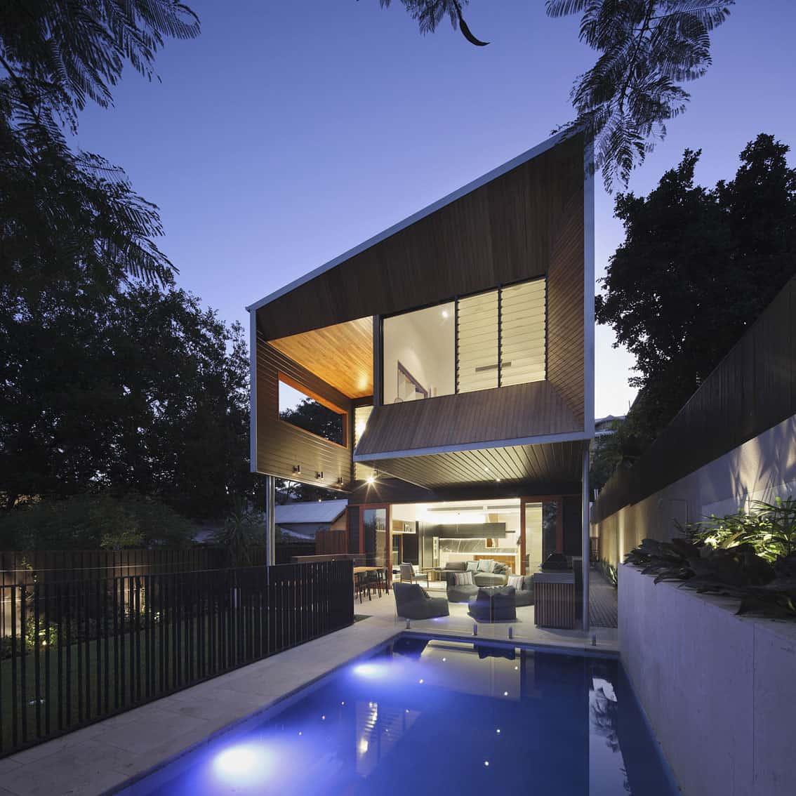 Wilden Street House by Shaun Lockyer Architects