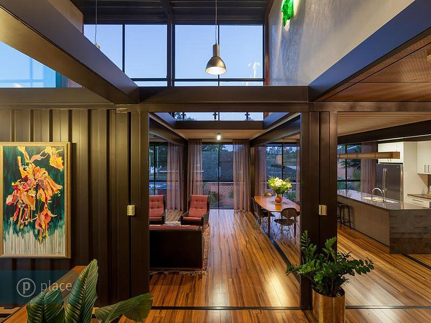 Design Container Home collect this idea studio arte nomad View In Gallery 31 Shipping Container Home By Zieglerbuild 8