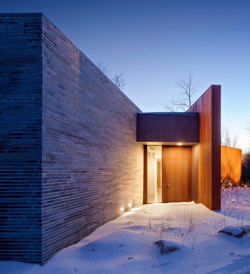 A House In The Woods by William Reue Architecture (10)
