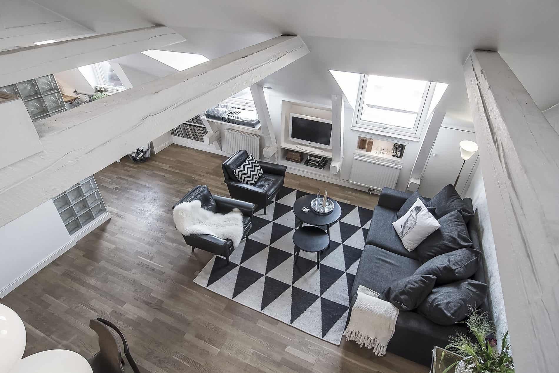 Scandinavian Design A Relaxing Space Under The Roof