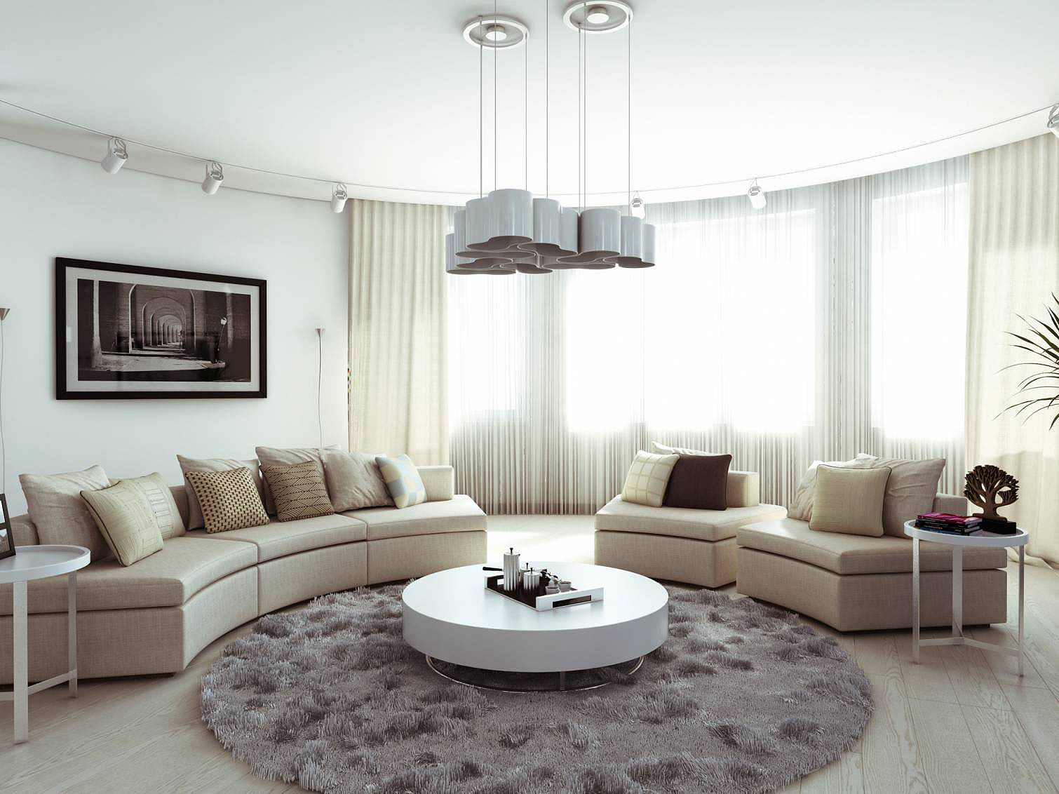 """Apartment Design in """"Moskovyan Plaza"""" by ITHAKA-Architecture and Design"""