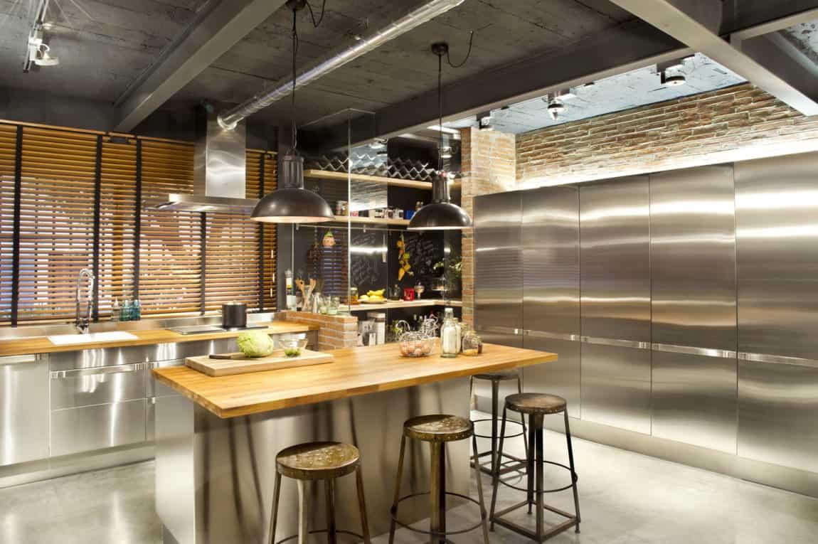 Bajo comercial convertido en loft by Egue y Seta (8)