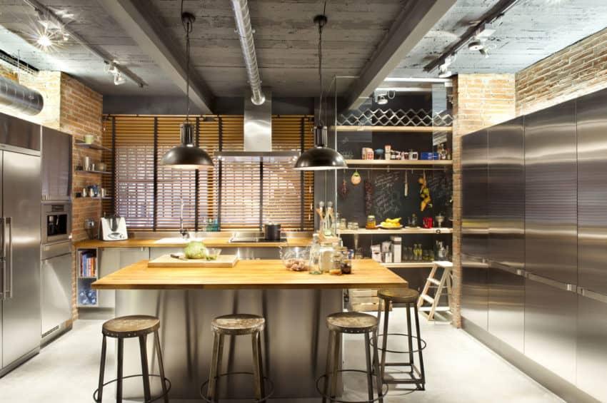 Bajo comercial convertido en loft by Egue y Seta (9)