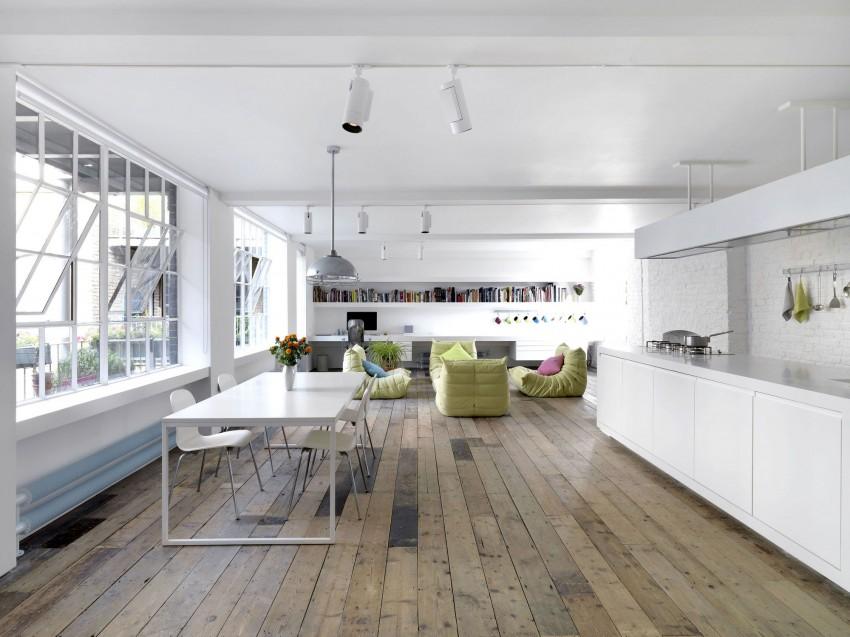 Bermondsey Warehouse Loft by FORM Design Architecture (1)