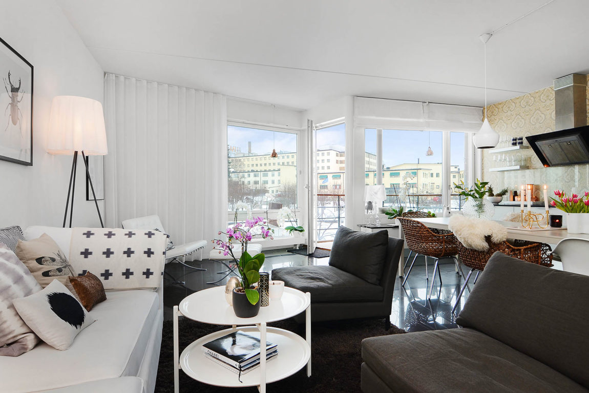 Bright Two Bedroom Apartment in Stockholm (19)