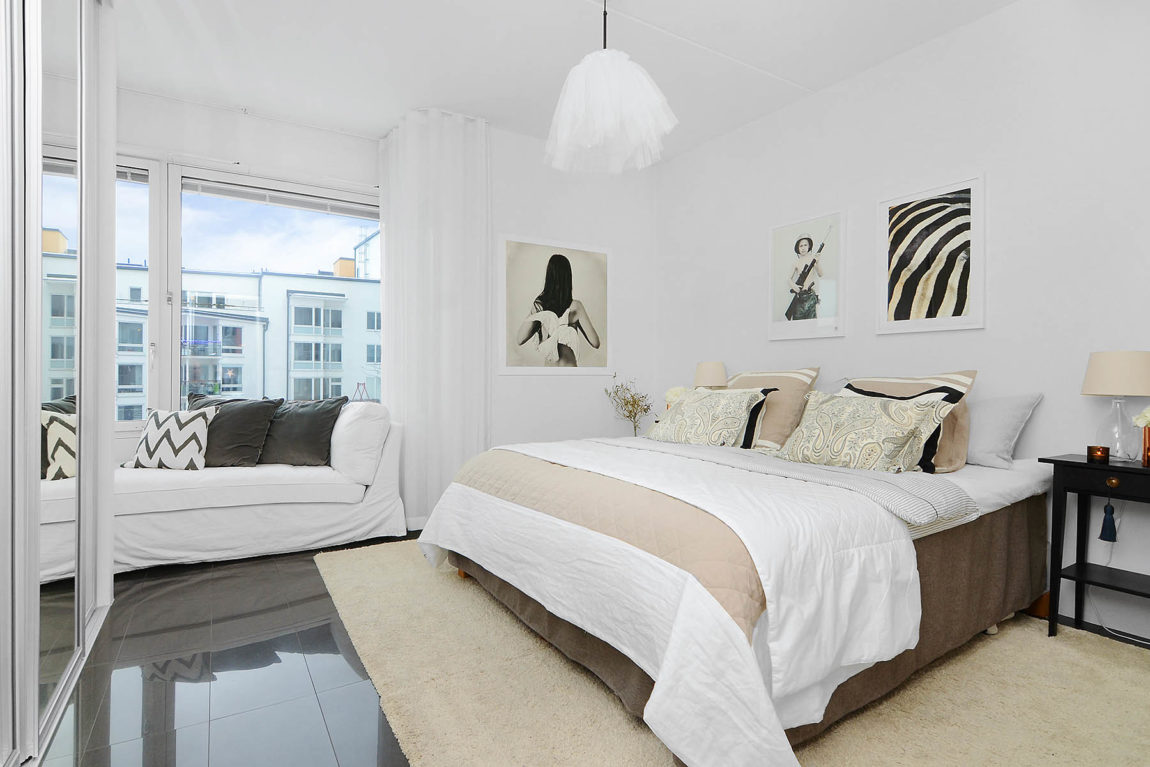 Bright Two Bedroom Apartment in Stockholm (5)