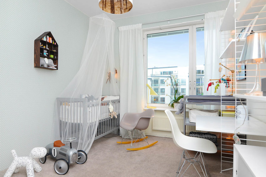 Bright Two Bedroom Apartment in Stockholm (3)