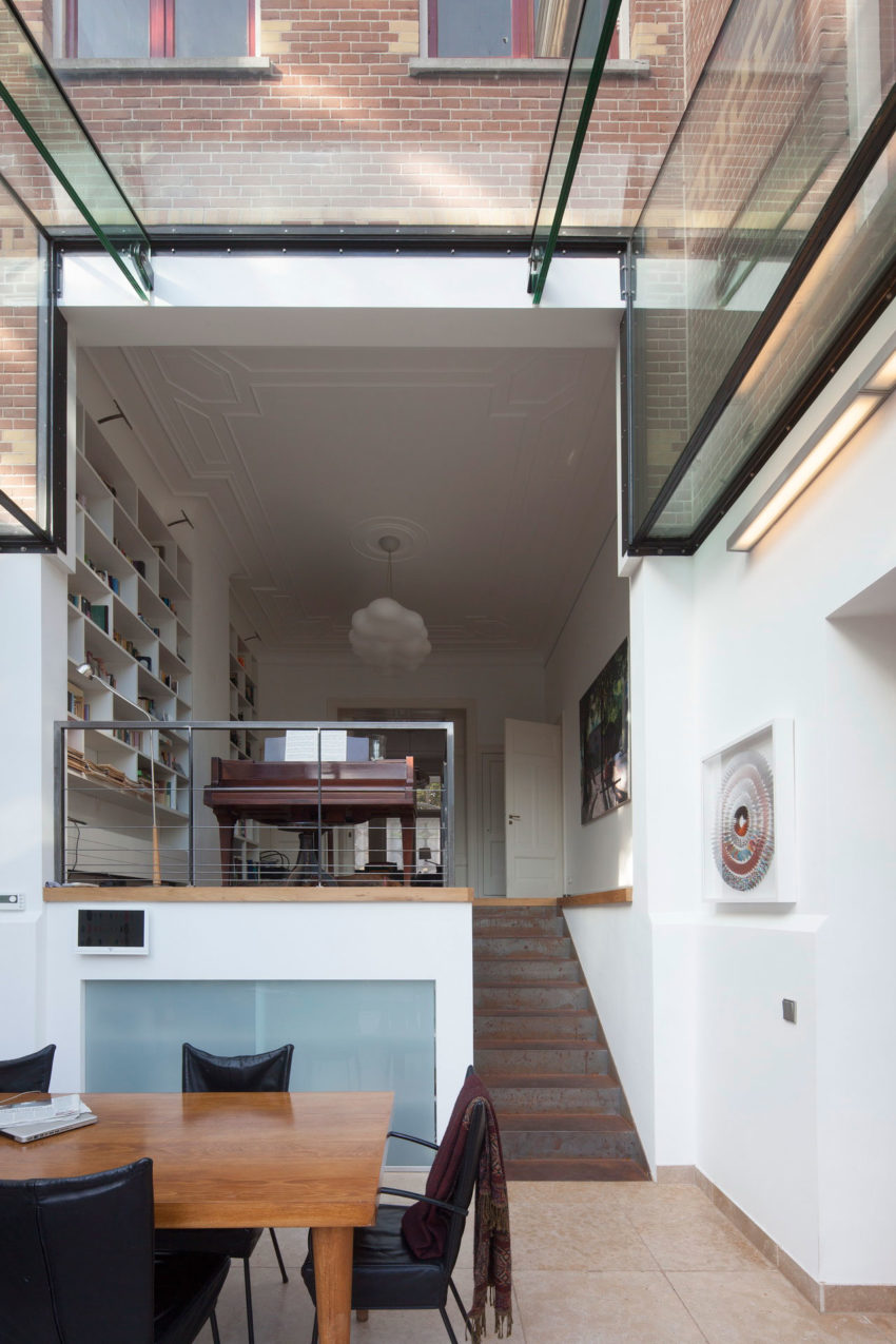 Duinweg Glass Extension by BBVH Architecten (8)