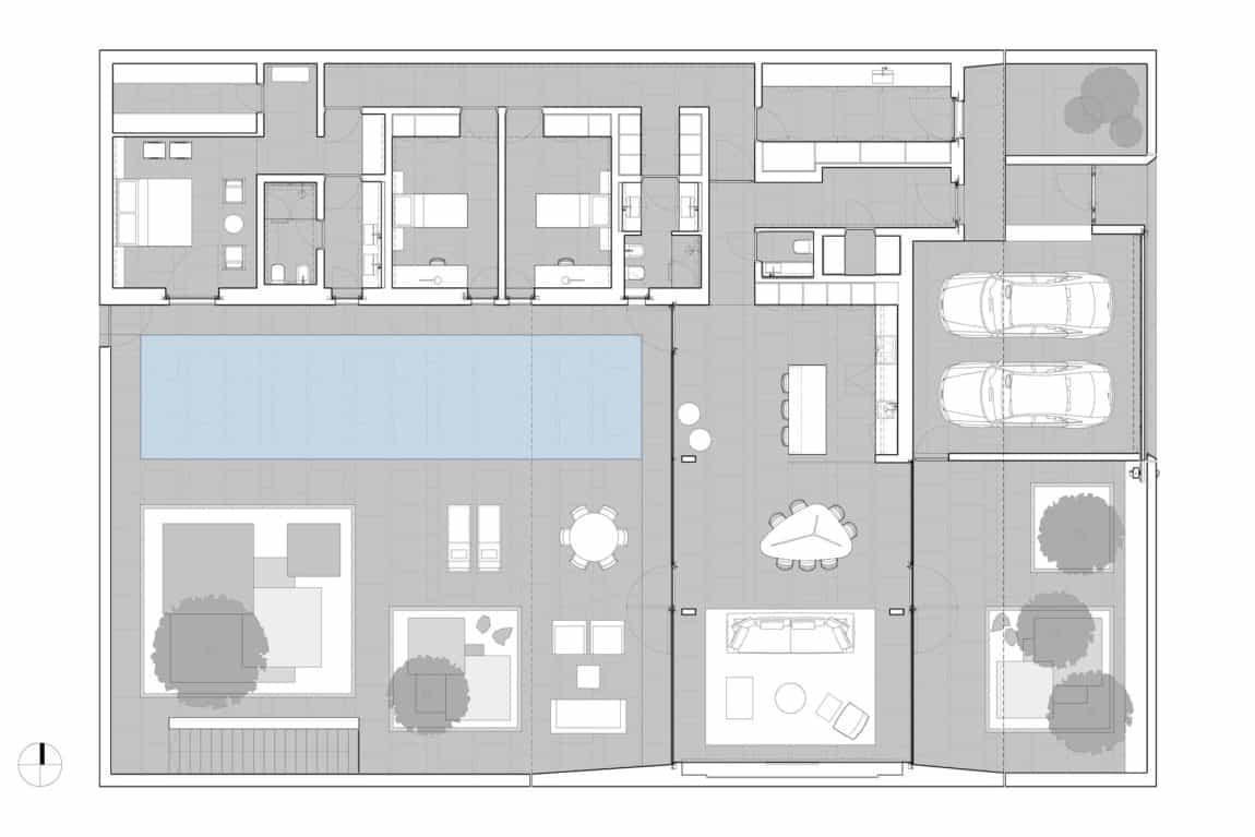 Jesolo Lido Pool Villa by JM Architecture (21)