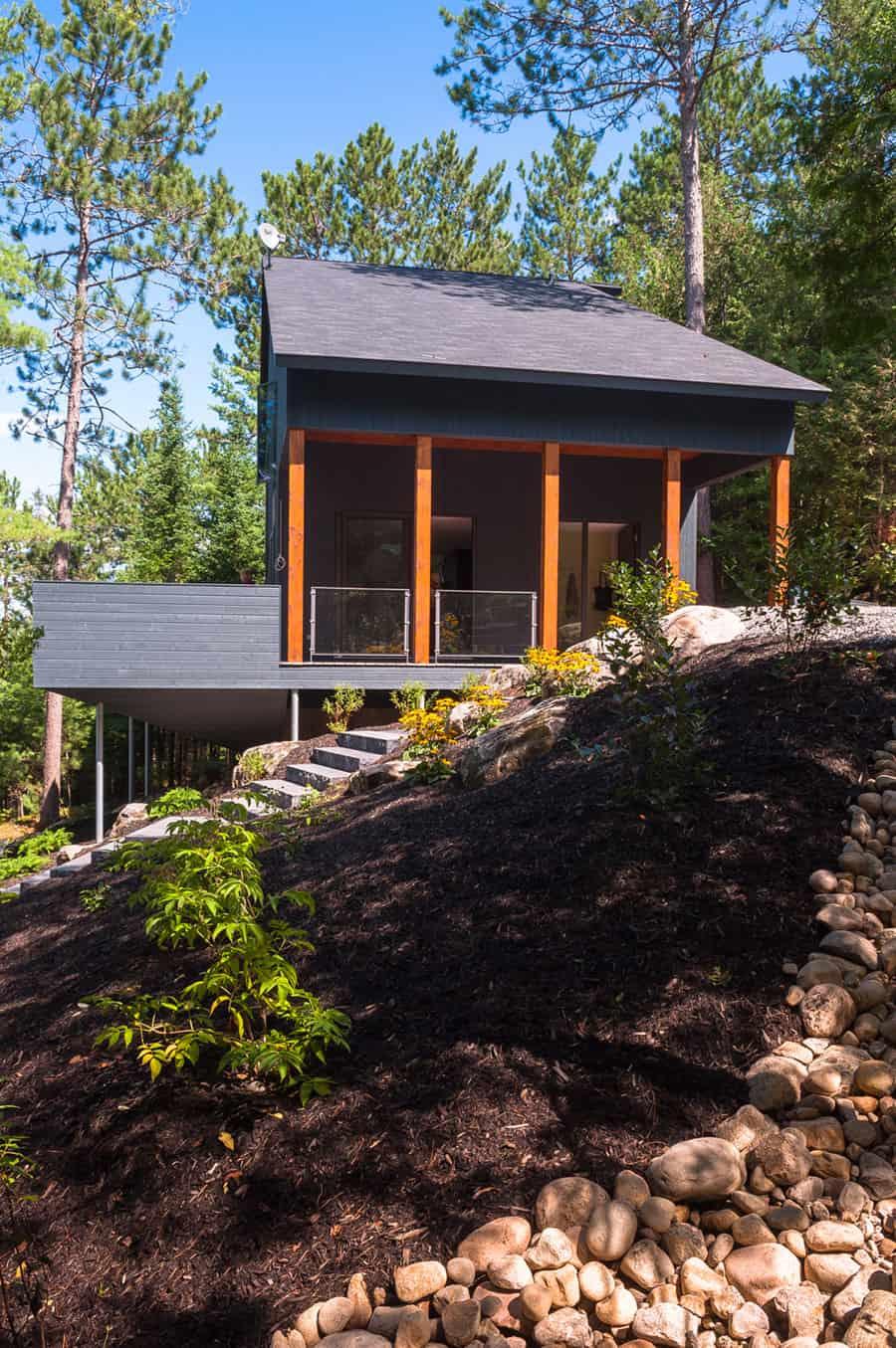 Maison au bord du lac by Anik Péloquin (1)