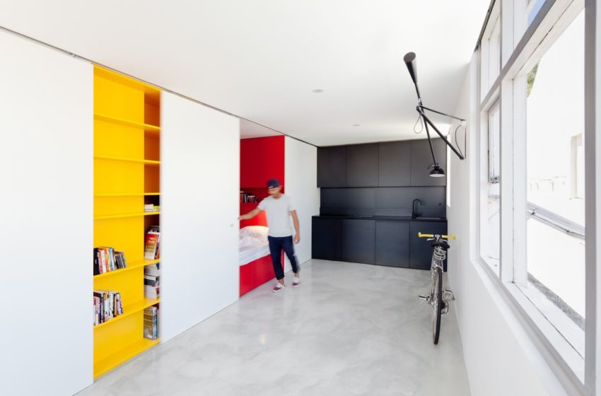 Mighty Mouse apartment by Nicholas Gurney (5)