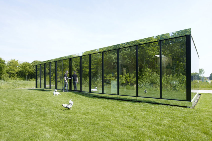 Mirror House by Johan Selbing & Anouk Vogel (2)