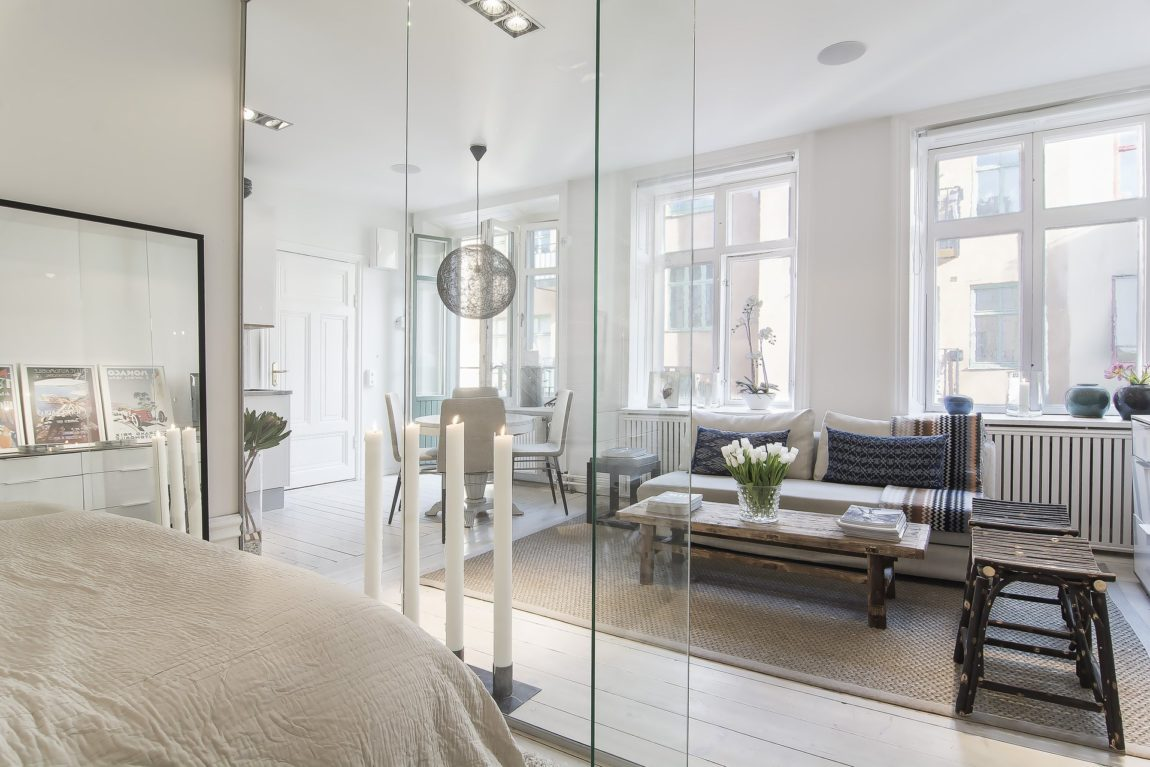 Small yet Stylish Flat in the Heart of Stockholm (16)