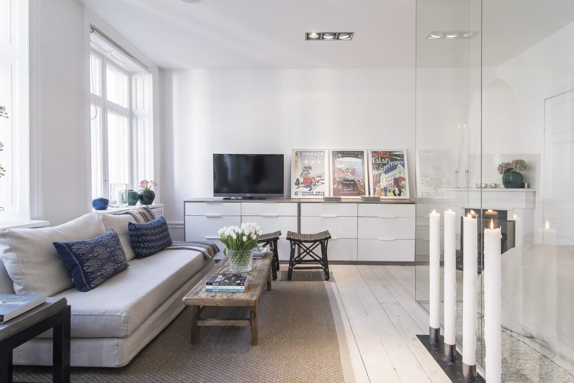 Small yet Stylish Flat in the Heart of Stockholm (15)