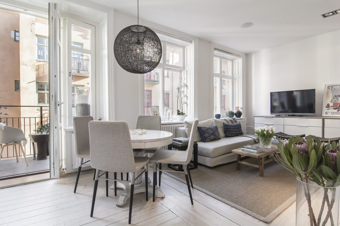 Small yet Stylish Flat in the Heart of Stockholm (11)