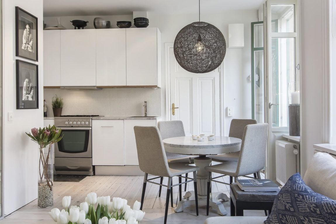 Small yet Stylish Flat in the Heart of Stockholm (8)