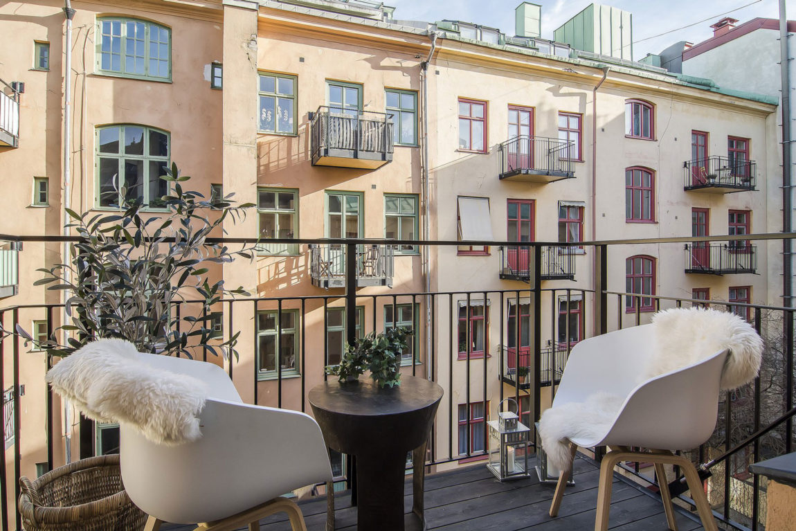 Small yet Stylish Flat in the Heart of Stockholm (6)