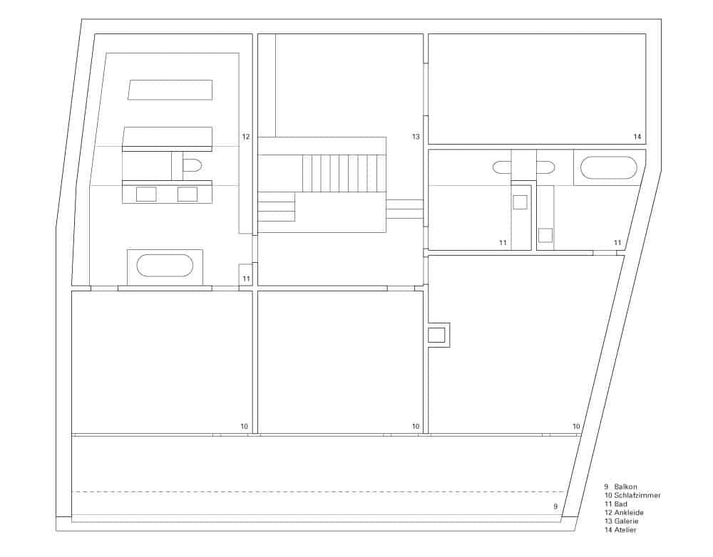 2LB House by Raphaël Nussbaumer Architectes (12)