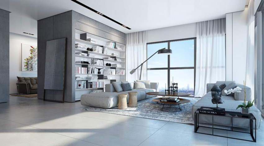 An Apartment in the W Boutique Tower by Ando Studio (1)