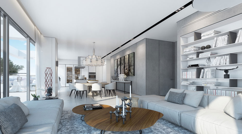 An Apartment in the W Boutique Tower by Ando Studio (2)