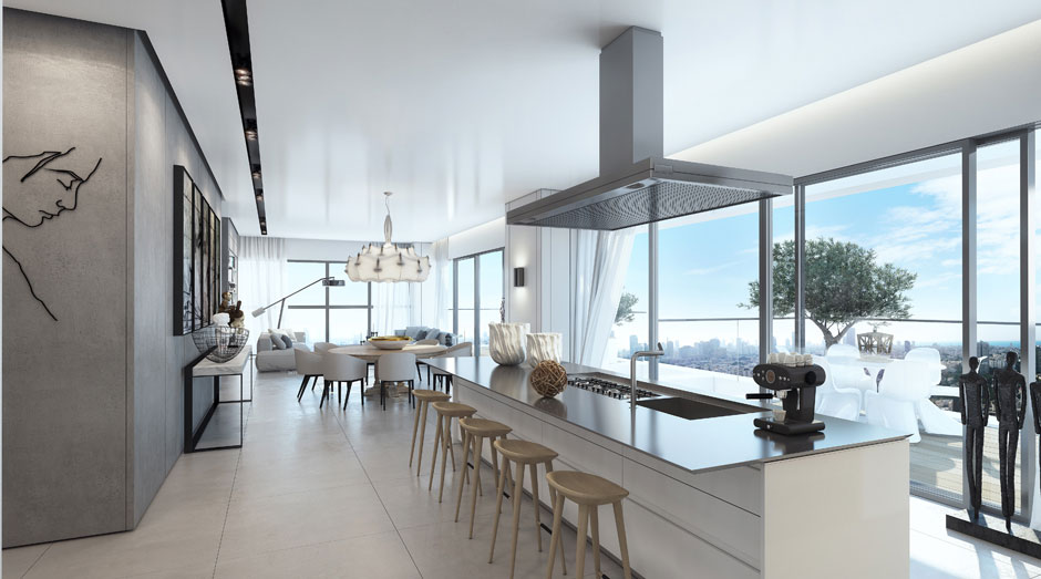 An Apartment in the W Boutique Tower by Ando Studio (3)
