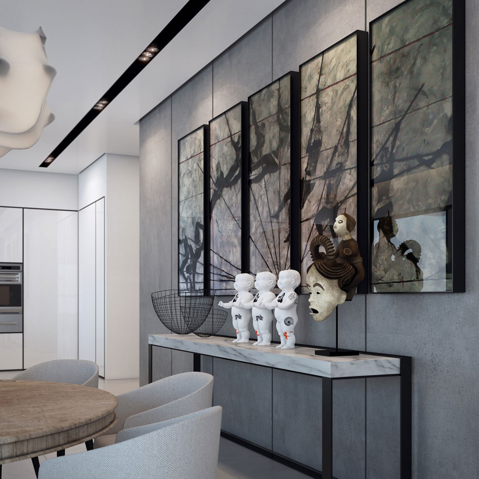 An Apartment in the W Boutique Tower by Ando Studio (5)