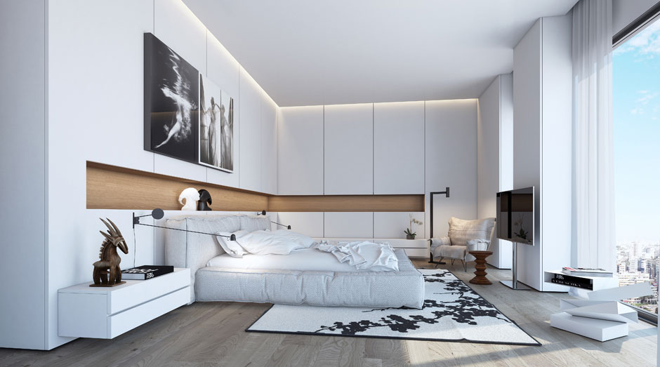 An Apartment in the W Boutique Tower by Ando Studio