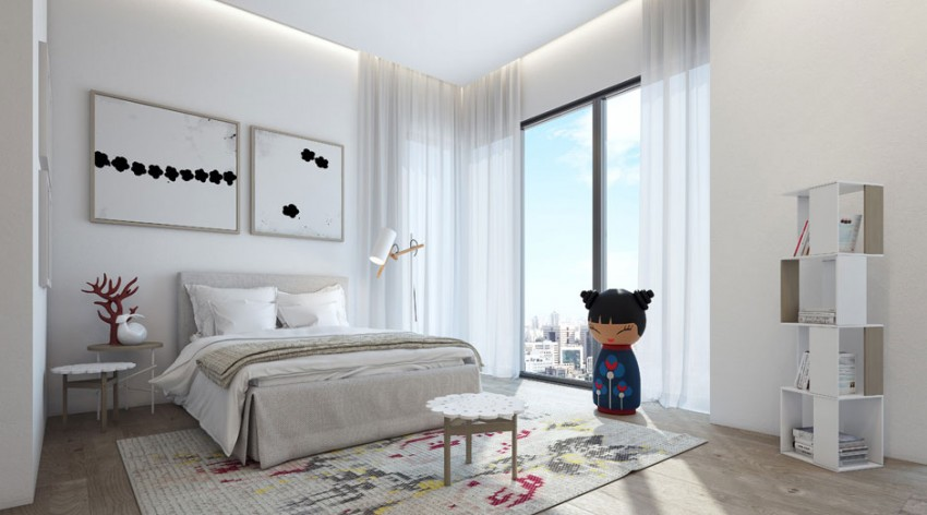 An Apartment in the W Boutique Tower by Ando Studio (8)