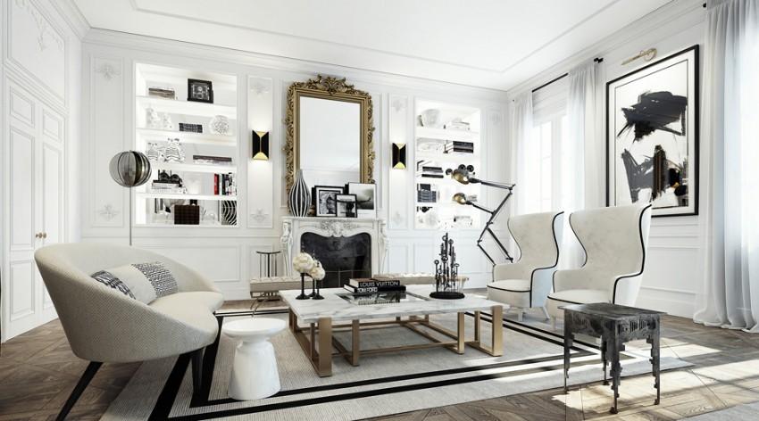 Apartment in Saint Germain by Ando Studio (2)