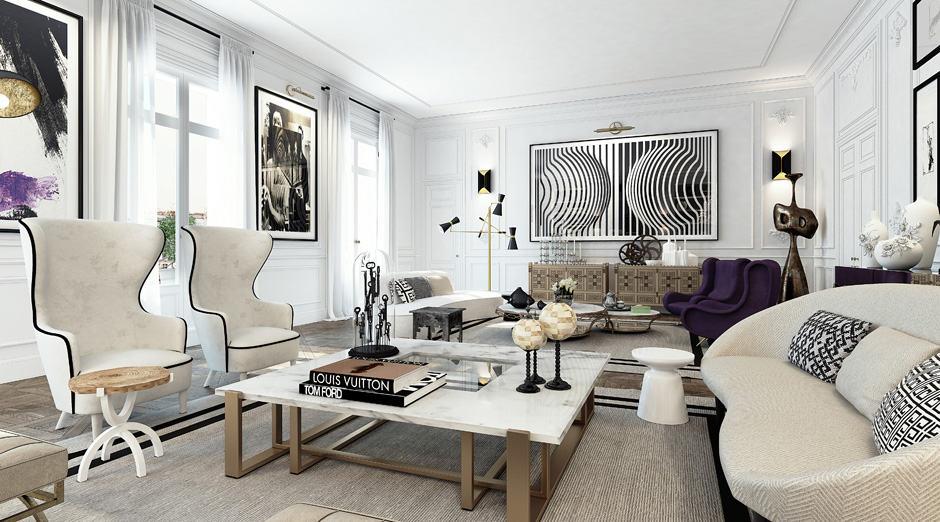 Apartment in Saint Germain by Ando Studio (3)